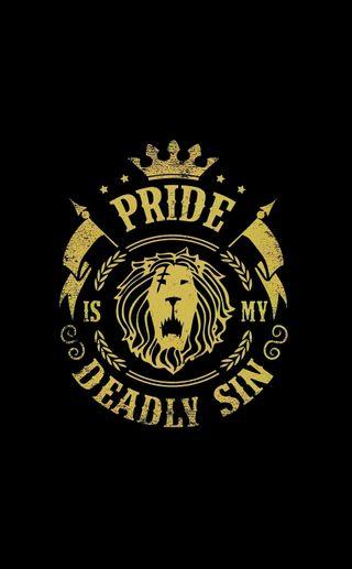 Обои на телефон смертоносный, семь, прайд, лев, грехи, грех, pride deadly sin