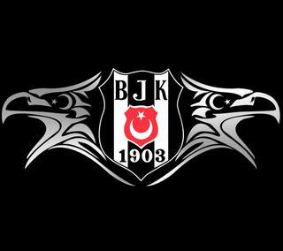 Обои на телефон картал, черные, турецкие, орел, лунная звезда, бесикташ, siyah, besiktas - ay yildiz
