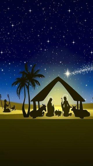 Обои на телефон рождество, криштиану, исус, navidad es jesus