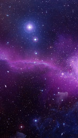Обои на телефон туманность, природа, галактика, galaxy