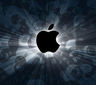 Обои на телефон яркие, эпл, символ, логотипы, икона, айфон, iphone, hd, apple, 3д, 3d