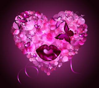 Обои на телефон губы, поцелуй, навсегда, любовь, love