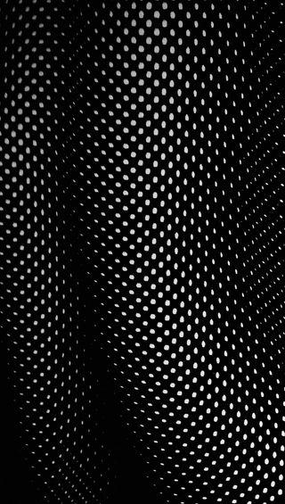 Обои на телефон 3d, mesh, dot waves, черные, темные, шаблон, 3д, простые, волны, чистые, точки
