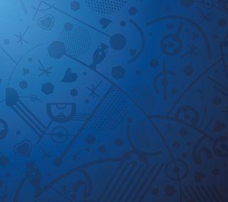 Обои на телефон шаблон, франция, синие, евро, абстрактные, uefa, euro2016 pattern, 2016