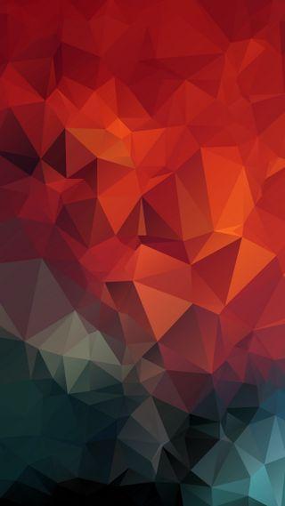 Обои на телефон мозаика, треугольники, геометрические