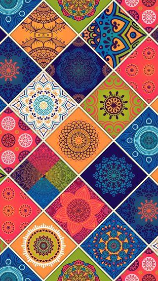 Обои на телефон микс, шаблон, цветы, цветные, смешанный, абстрактные, pattern mix
