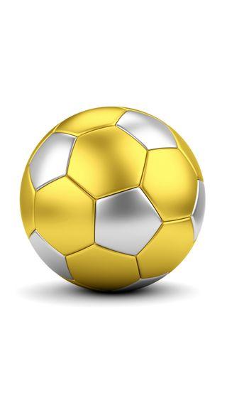 Обои на телефон спорт, футбол, мяч, золотые