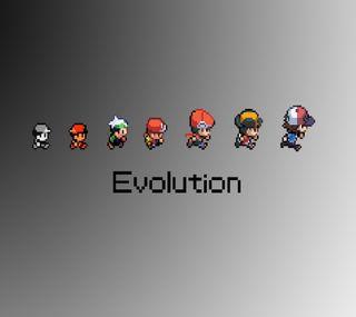 Обои на телефон эволюция, нинтендо, покемоны, pkmn evolution, nintendo