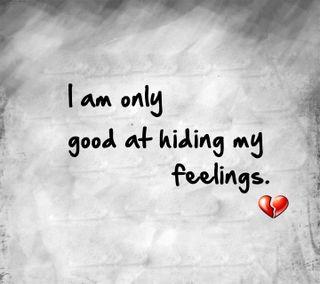 Обои на телефон чувства, цитата, приятные, поговорка, новый, мой, любовь, love, hiding my feelings, hiding, good