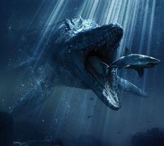 Обои на телефон фильмы, мир, динозавр