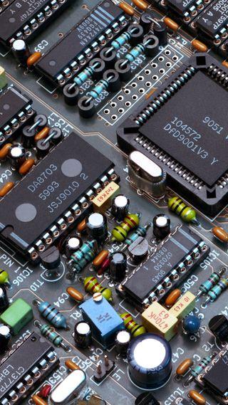 Обои на телефон микросхема, технологии, доска, printed, hardware, assembly