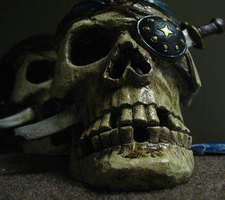 Обои на телефон пираты, череп, смерть