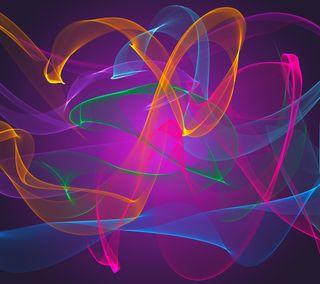 Обои на телефон волны, красочные, абстрактные, xperia z3, xperia, hd