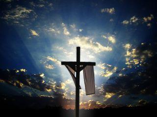 Обои на телефон христос, крест, исус