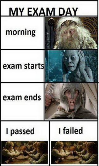 Обои на телефон конец, утро, старт, забавные, день, passed, faild, exam