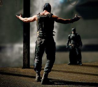 Обои на телефон рыцарь, темные, бэтмен, бэйн, dark knight rises, batman v bane