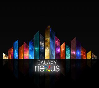 Обои на телефон радуга, галактика, абстрактные, nexus, galaxy nexus 1, galaxy