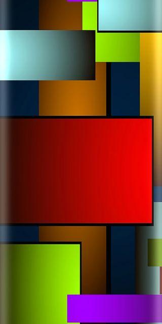 Обои на телефон квадратные, красочные, красота, грани, абстрактные, s8, g6