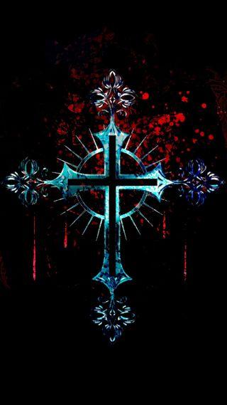 Обои на телефон святой, крест
