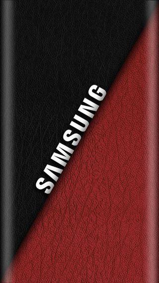 Обои на телефон буквы, черные, самсунг, красые, изгиб, грани, samsung