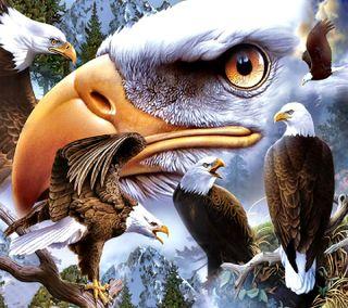 Обои на телефон орел, eagle---------, ---------