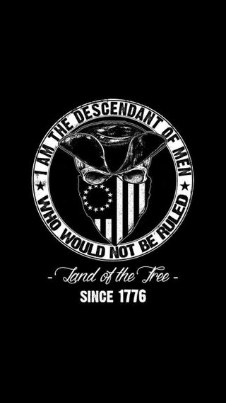 Обои на телефон три, свобода, патриотический, военные, билл, three percenters, second amendment, ruled, descendant, bill of rights