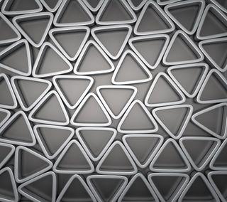 Обои на телефон треугольники, фон, металлические, дизайн, арт, абстрактные, metall, art