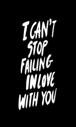 Обои на телефон стоп, ты, любовь, love, failing, cant