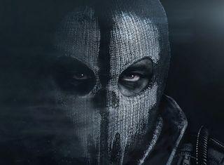 Обои на телефон тень, черные, супер, призрак, маска, игра, глаза, герой, враг, бой, cod, call of duty ghosts, black oops