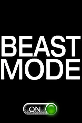 Обои на телефон зверь, fdx, beast mode, asb
