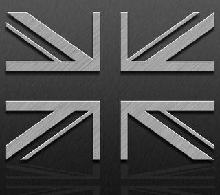 Обои на телефон великий, флаг, металлические, джек, британия, union jack metalic flag, union jack, great britain