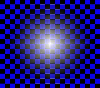 Обои на телефон коробка, шаблон, синие, куб, квадратные, check blue 3d, 3д, 3d