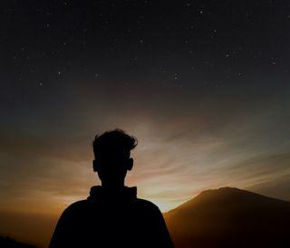 Обои на телефон изображения, черные, цветные, путь, путешествие, природа, ночь, небо, млечный, индонезия, восход, sunrise milky way, mount, miky way