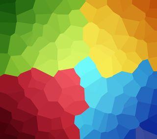 Обои на телефон формы, цветные, кристаллы, гугл, абстрактные, nexus, google