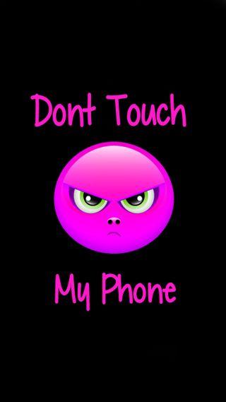 Обои на телефон трогать, не, телефон, розовые, мой, айфон, iphone