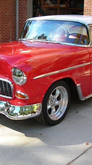 Обои на телефон классика, машины, красые, red car