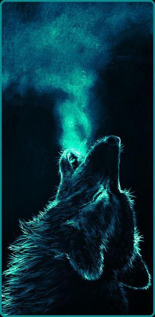 Обои на телефон солнечный, черные, небо, медведь, медведи, космос, звезды, звезда, грани, волк, вой, wolf edge note8