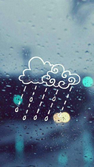 Обои на телефон дождь, tumblr