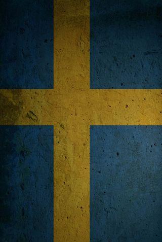 Обои на телефон швеция, флаг, мотивация, swedish flag grunge