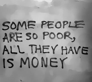 Обои на телефон деньги, poor, have
