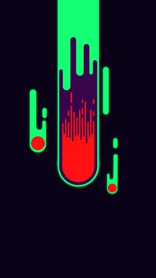 Обои на телефон фулл хд, иллюстрации, плоские, крутые, космос