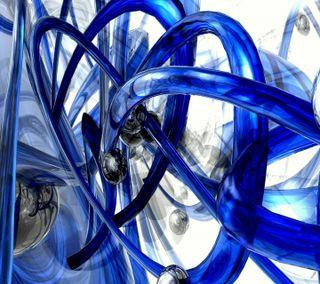Обои на телефон удивительные, синие, самсунг, прекрасные, галактика, белые, арт, абстрактные, samsung, s4, galaxy s3, fluid, art
