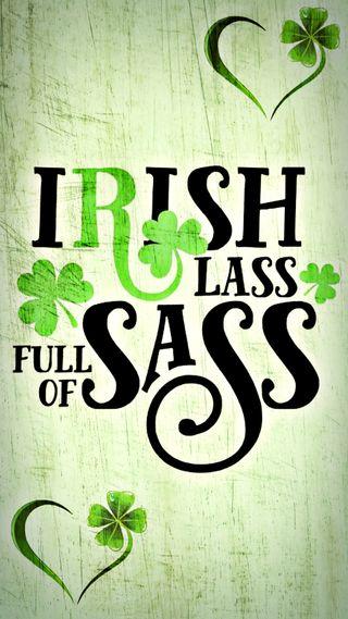 Обои на телефон трилистник, март, ирландские, день, st paddys day, sassy, lassy