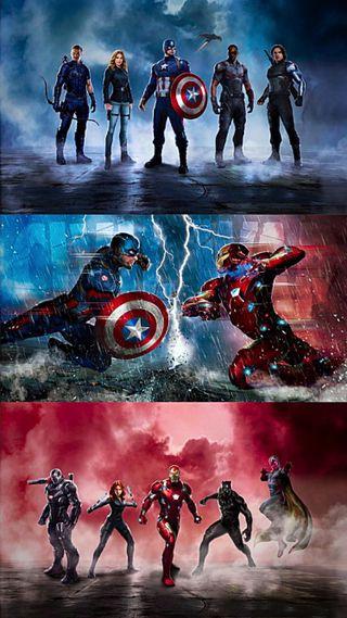 Обои на телефон марвел, гражданская, война, америка, marvel civil war, marvel