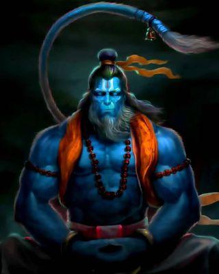 Обои на телефон хануман, господин, lord hanuman, anjeneyam