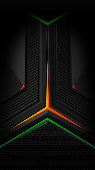 Обои на телефон технология, черные, цветные, ультра, темные, современные, синие, микс, красые, грани, галактика, mix edge, galaxy