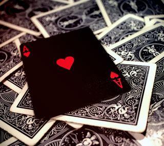 Обои на телефон покер, карты, туз