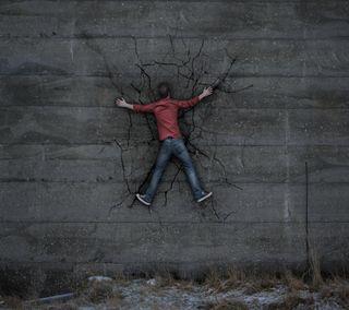 Обои на телефон стена, obstacle