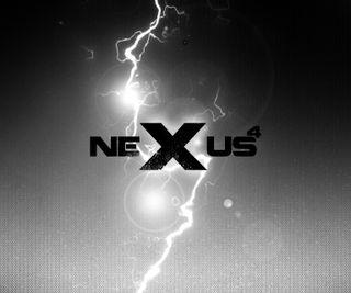 Обои на телефон черные, звезды, белые, nexus 4, n4stars 002