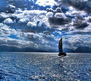 Обои на телефон корабли, океан, hd